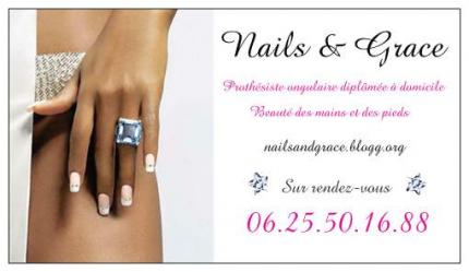 Nails Grace Votre Carte De Visite