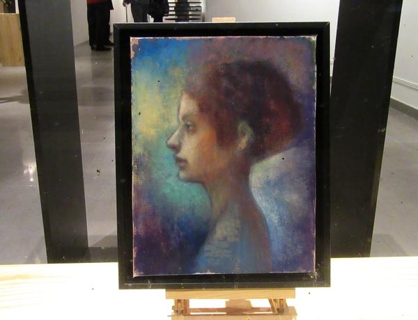 Tatsuo Jikumaru expose à la Galerie d'Art et d'Or de Châtillon sur Seine ses sublimes peintures.......
