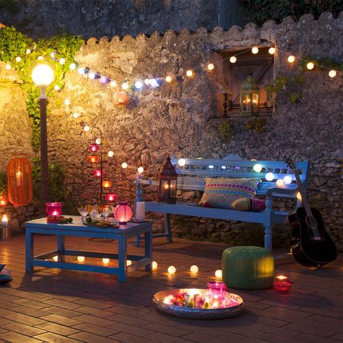 """Lampions / Lanternes / Boules et autres """"trucs"""" colorés"""