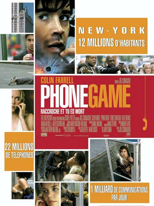 PHONE GAME BOX OFFICE FRANCE 2003