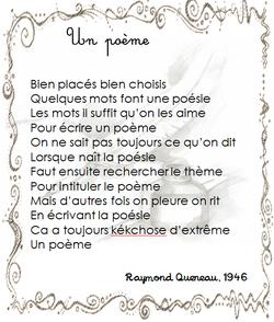 poésies pour la rentrée