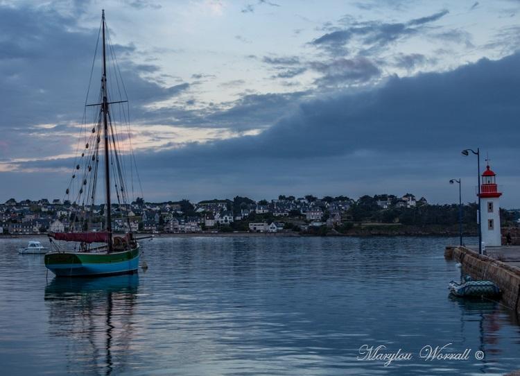 Bretagne : Erquy, le soir