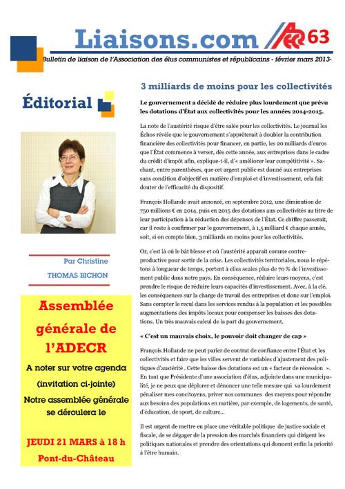 Bulletin de l'ADECR