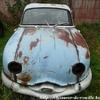 Panhard bleue rouille.