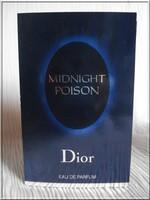 MIDNIGHT POISON   tube échantillon vaporisateur edp
