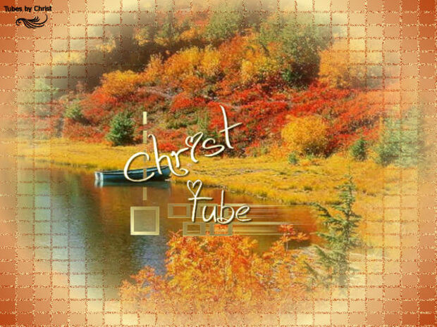 Automne Paysage - Tubes By Christ