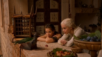 L'évolution du look de Daenerys: saison 2