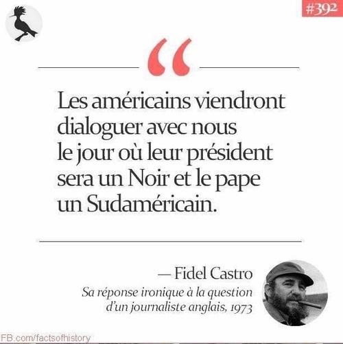 La prédiction de Fidel