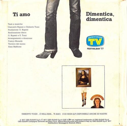 Umberto Tozzi - Ti Amo 02