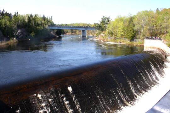 Les chutes de Montmorency au Quebec