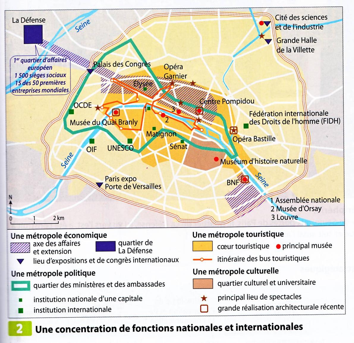 La france dans la mondialisation mdeforge for Lieux touristiques paris