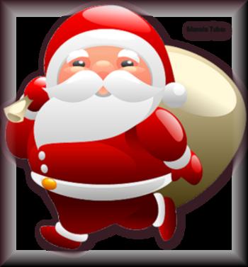 Tube père Noel vectoriel 2986