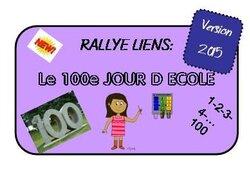 Contribution 100è jour d'école - 2015