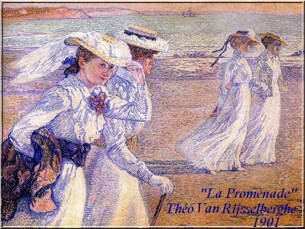Theo Van Rijsselsberghe - La Promenade