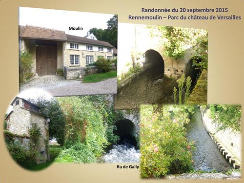 Randonnée Rennemoulin-Parc du château de Versailles
