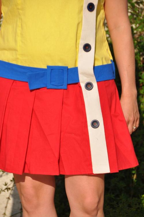CAP de coudre une robe ou le défi d'Avril.