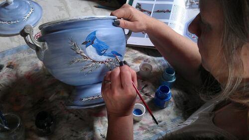 Peintures sur tout supports, cadeau original et unique pour se faire plaisir ou offrir