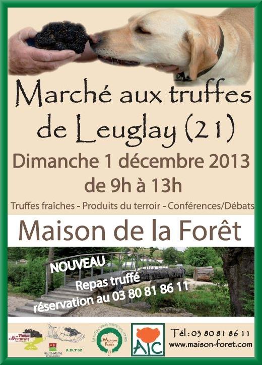 Le troisième marché de la truffe aura lieu à la Maison de la Forêt le 1er décembre