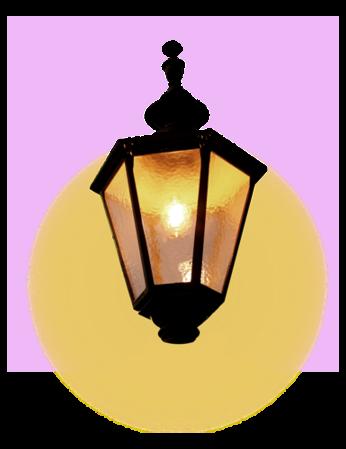 Tubes Déco Les luminaires (2013) - Thème Les luminaires Extérieurs série 02