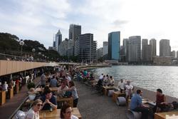 Sydney : Bondi, ses surfers, ses musclés....et nos amis !