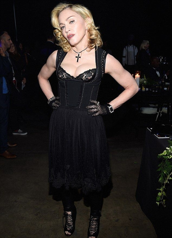 Madonna @ Keep A Child Alive Black Ball 2014 (4)