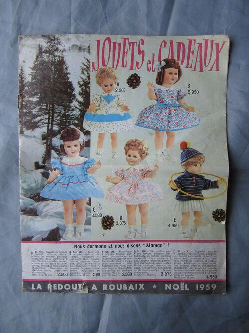 Les petites filles de france dans les catalogues