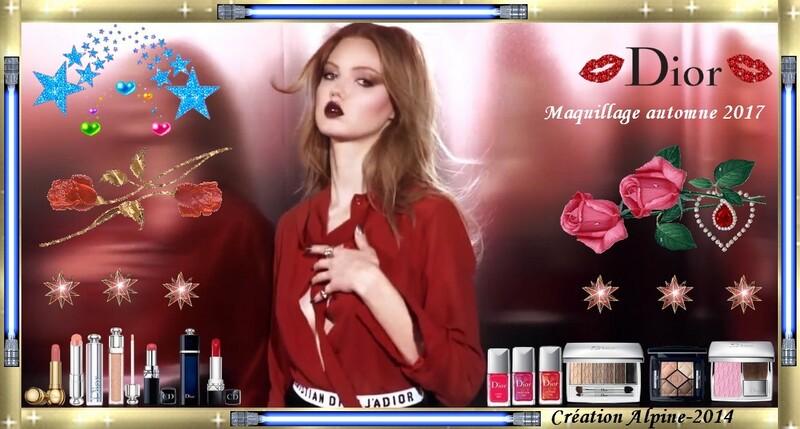 Maquillage automne Dior