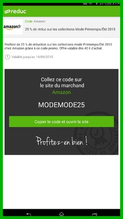 Application Smartphone : Ma Reduc
