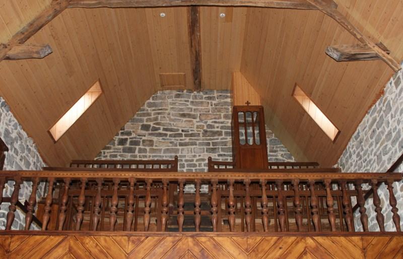 813 - Une chapelle dans le brouillard basque…