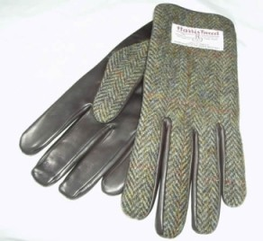 gants tweed