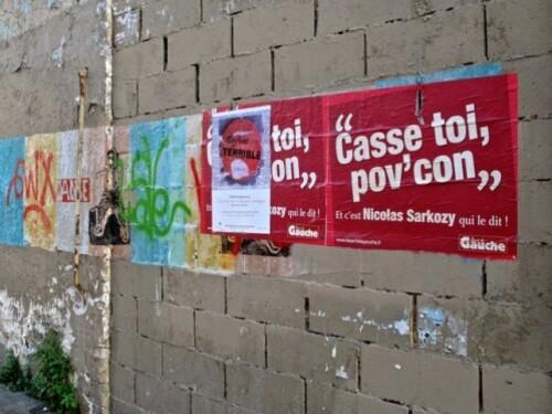 Casse toi pov' con affiche Front de Gauche 1