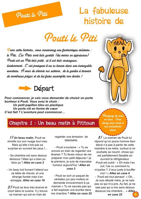 La fabuleuse histoire de Pouti le Piti [PsJ 23]