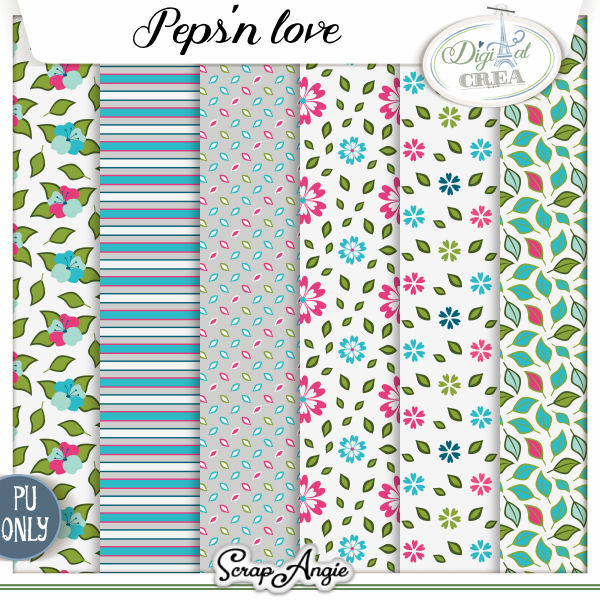 PEPS N'LOVE BY SCRAP'ANGIE