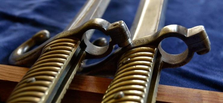 Différencier la baïonnette Remington Egyptien et celle du Chassepot