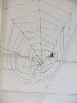 création d'une toile d'araignée - étape 4