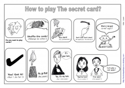 The secret card - clothes