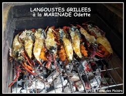 LANGOUSTE GRILLÉE AU BBQ