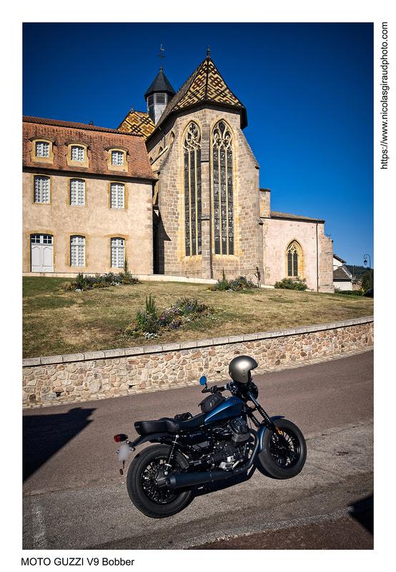 1er raod trip en Bobber (Moto GUZZI V9)