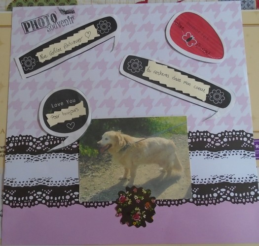 Page scrap Bande dessinée