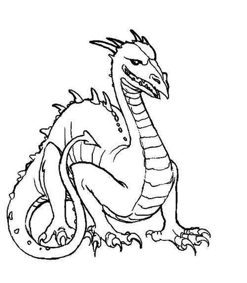 Coloriages Dragons