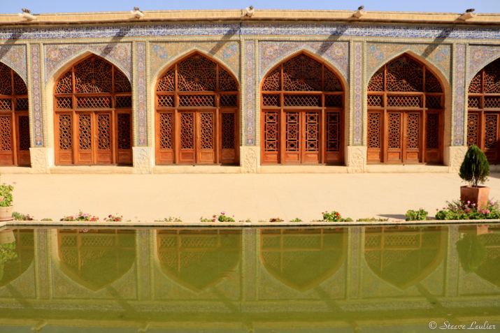 Extérieur de la mosquée Nasir-ol-Molk, Chiraz