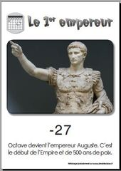 auguste premier empereur