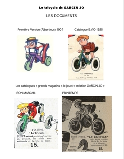 F061  Garcin Jo dans les catalogues