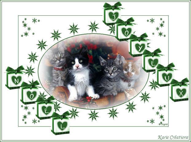 """Joyeux Noel """"Animaux"""" 8"""