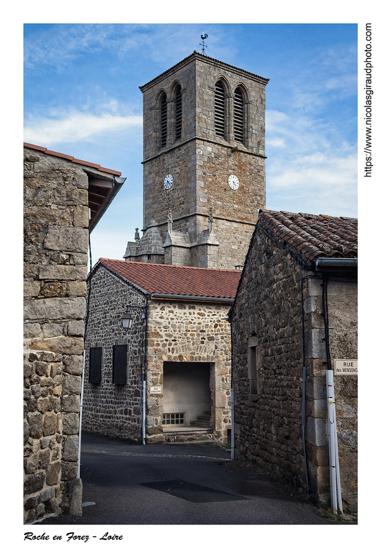 La Roche et Roche en Forez en passant la Loire! (AURA)