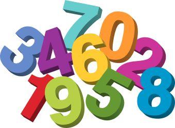 """Résultat de recherche d'images pour """"cliparts nombres"""""""