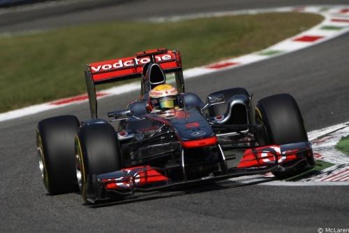 GP Italie - Course : Hamilton 4° Button 2°