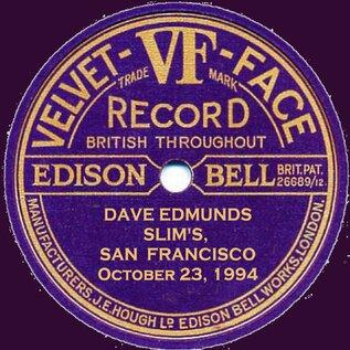 En v'là du live ! Dave Edmunds - Slim's San Francisco - 23 Octobre 1994