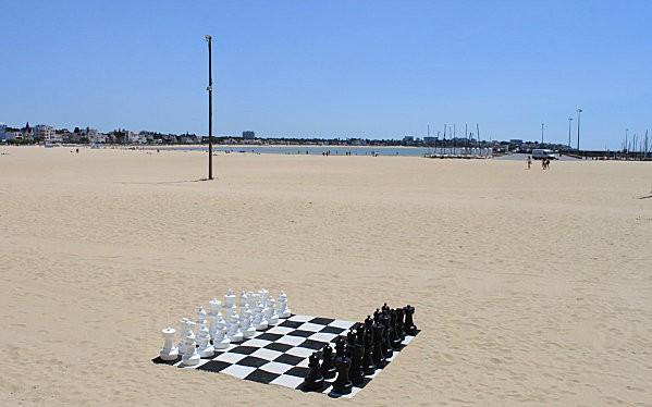 jeu d'échecs plage de Royan-0-