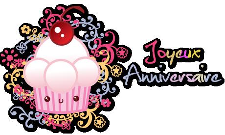 ♥ Texte décoré anniversaire (exclusivités et new)